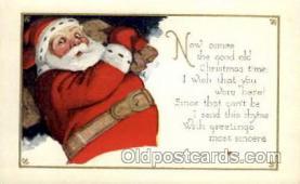 hol001829 - Santa Claus, Christmas, Postcard Postcards