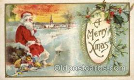 hol001833 - Santa Claus, Christmas, Postcard Postcards
