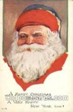 hol001841 - Santa Claus, Christmas, Postcard Postcards