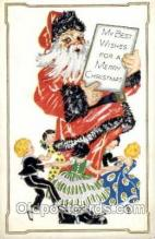 hol001859 - Santa Claus, Christmas, Postcard Postcards