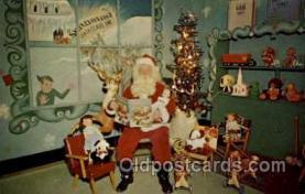 hol001864 - Santa Claus, Christmas, Postcard Postcards