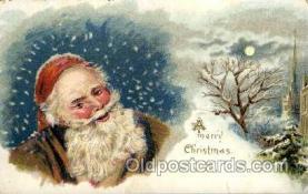 hol001872 - Santa Claus, Christmas, Postcard Postcards