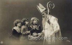 hol001886 - Santa Claus, Christmas, Postcard Postcards
