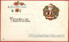 hol001892 - Santa Claus Postcard Postcards