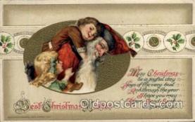 hol001896 - John Winsch Santa Claus Postcard Postcards