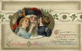 hol001897 - John Winsch Santa Claus Postcard Postcards