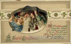 hol001898 - John Winsch Santa Claus Postcard Postcards