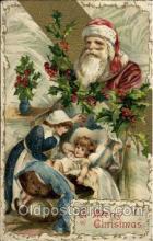 hol001910 - Santa Claus Postcard Postcards