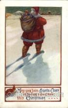 hol001918 - Santa Claus Postcard Postcards