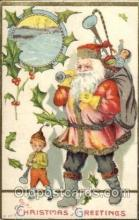 hol001921 - Santa Claus Postcard Postcards
