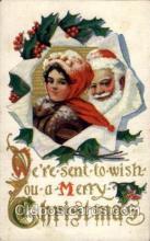 hol001922 - Santa Claus Postcard Postcards
