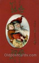 hol001929 - Santa Claus Postcard Postcards