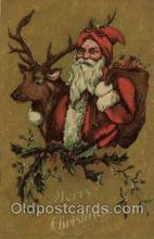 hol001931 - Santa Claus Postcard Postcards