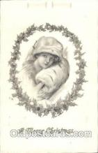hol001944 - Christmas Santa Claus Postcard Postcards
