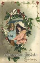 hol001949 - Artist Schmucker, Christmas Santa Claus Postcard Postcards