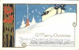 hol001956 - Christmas Postcard Postcards