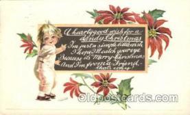 hol001958 - Christmas Postcard Postcards