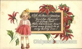 hol001959 - Christmas Postcard Postcards
