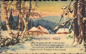 hol001963 - Christmas Postcard Postcards