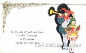 hol001968 - Christmas Postcard Postcards
