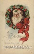 hol002009 - Christmas Santa Claus Postcard Postcards