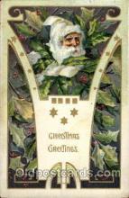 hol002011 - Christmas Santa Claus Postcard Postcards