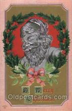 hol002012 - Christmas Santa Claus Postcard Postcards