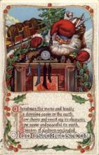 hol002016 - Christmas Santa Claus Postcard Postcards