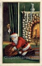 hol002017 - Christmas Santa Claus Postcard Postcards