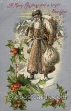 hol002023 - Christmas Santa Claus Postcard Postcards