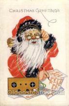 hol002024 - Christmas Santa Claus Postcard Postcards