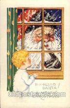 hol002028 - Christmas Santa Claus Postcard Postcards