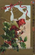 hol002033 - Christmas Santa Claus Postcard Postcards