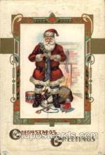 hol002036 - Christmas Santa Claus Postcard Postcards