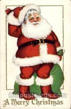 hol002049 - Christmas Santa Claus Postcard Postcards