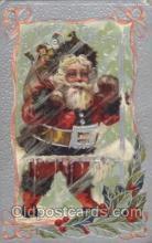 hol002052 - Christmas Santa Claus Postcard Postcards
