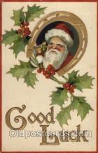hol002059 - Christmas Santa Claus Postcard Postcards