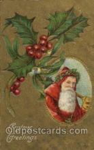 hol002061 - Christmas Santa Claus Postcard Postcards
