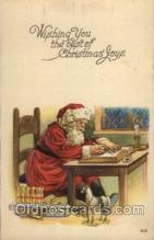 hol002067 - Christmas Santa Claus Postcard Postcards
