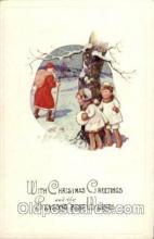 hol002071 - Christmas Santa Claus Postcard Postcards