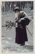 hol002092 - Christmas Santa Claus Postcard Postcards
