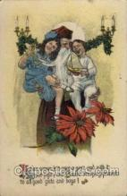 hol002097 - Christmas Santa Claus Postcard Postcards