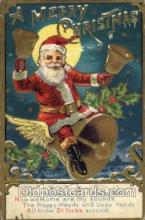 hol002106 - Christmas Santa Claus Postcard Postcards