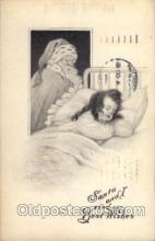 hol002107 - Christmas Santa Claus Postcard Postcards