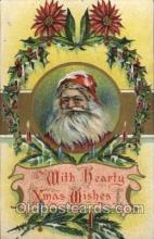 hol002108 - Christmas Santa Claus Postcard Postcards