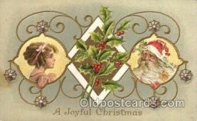 hol002112 - Christmas Santa Claus Postcard Postcards