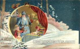 hol002133 - Christmas Santa Claus Postcard Postcards