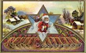 hol002137 - Christmas Santa Claus Postcard Postcards