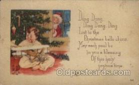 hol002147 - Christmas Santa Claus Postcard Postcards