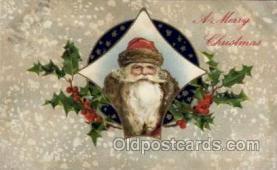 hol002148 - Christmas Santa Claus Postcard Postcards